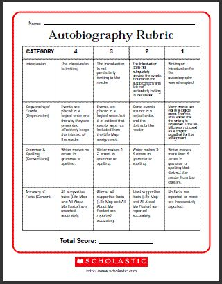 20 best autobiography images on Pinterest Teaching ideas, Art - autobiography template