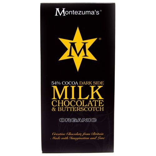 Tableta de Ciocolata Milk Chocolate Butterscotch #montezumas #ciocolata #caramel #dulciuri #cadouri #ideicadouri