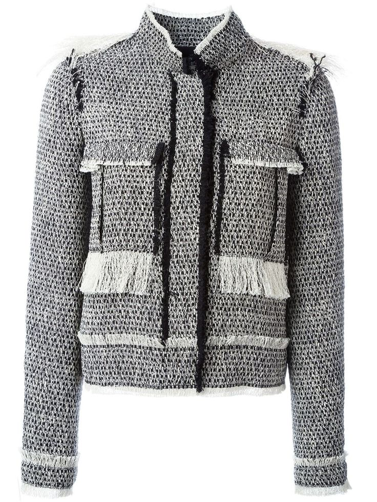 Lanvin Tweed Jacket - Shuga Palace - Farfetch.com