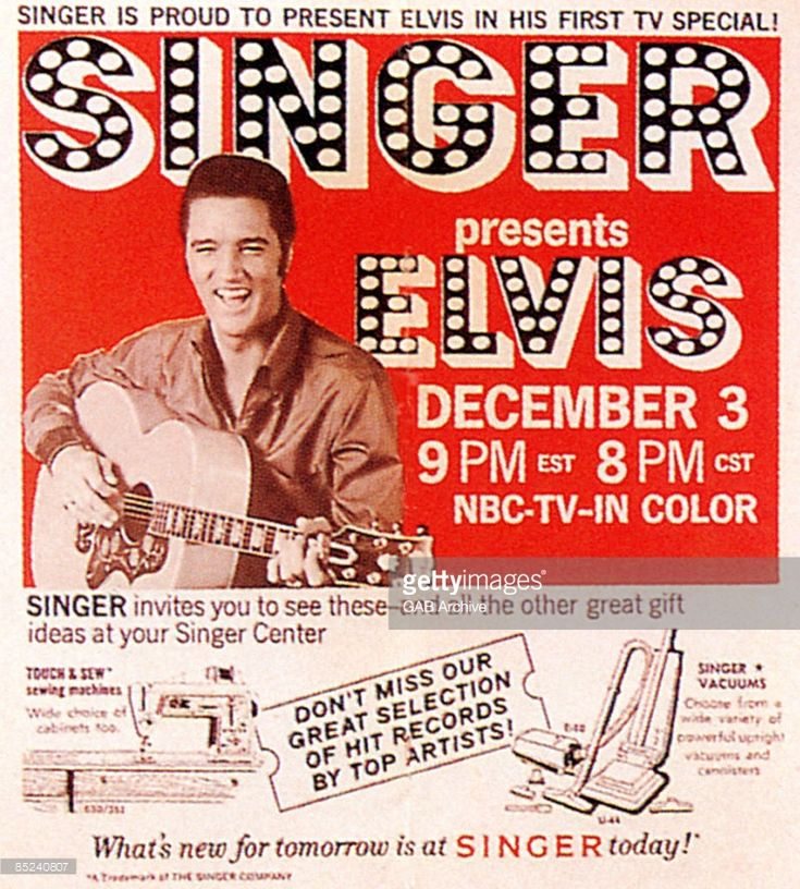 News Photo : Photo of FILM POSTERS and Elvis PRESLEY; Press ad...