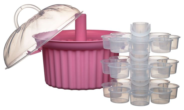 Carry and display your delicious cupcakes in style. Holds twenty-four cupcakes over three spacious tiers, perfect for decoration. Featuring an airtight lid, the carrier ensures your cakes stay fresh, allowing friends and family to eat till the carrier is empty! Part of Sweetly Does It, our extensive sugarcraft collection that offers everything you need for cake making, decorating, presentation and serving.