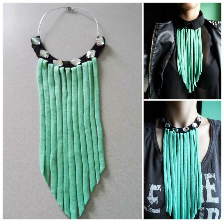 Fringes necklace, by Macaroni&Style.  https://www.facebook.com/photo.php?fbid=338951069549746&set=a.255780707866783.52292.250924128352441&type=3&theater