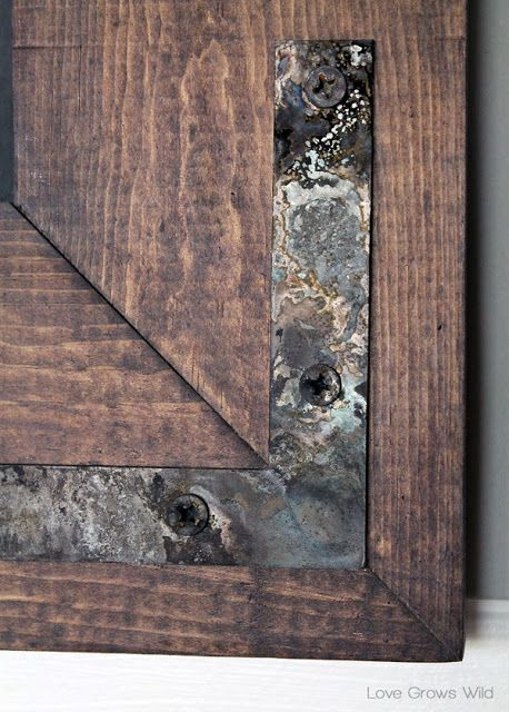 How to Instantly Age New Hardware - perfect for rustic decor! at…
