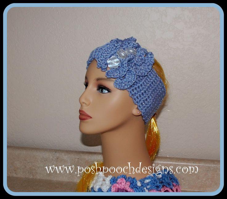 Crochet Flower Ear Warmer Pattern Image Collections Knitting