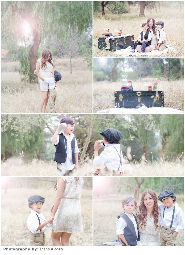 vintage family session