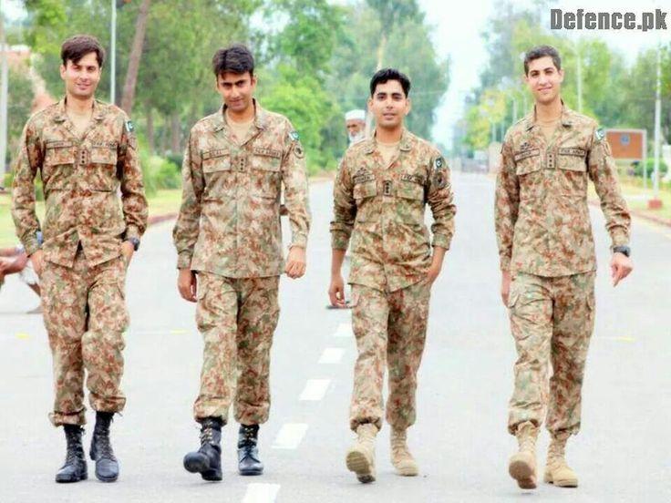 Men with grace, Pakistan Defence
