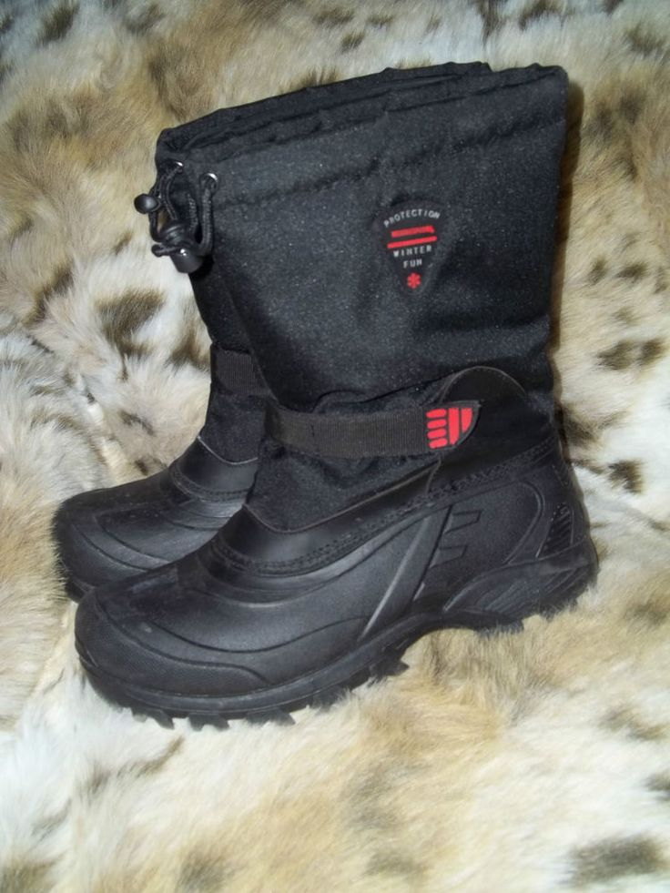 kohl s protection black cordura rubber winter boots