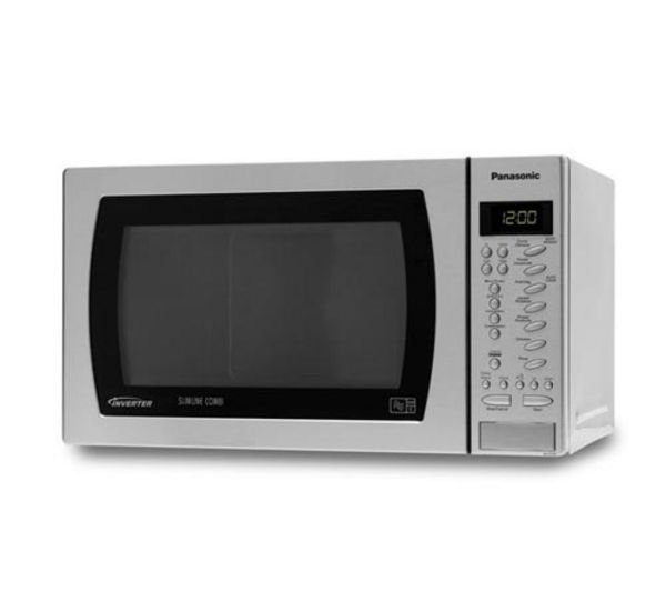 Buy PANASONIC NN-CT579SBPQ Slimline Combination Microwave | Free Delivery | Currys Depth 31cm £200