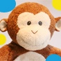 Mod Monkey Party. Got great ideas for Celeste Mod Monkey Girl Party :)