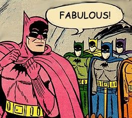 much better than the boring old Batsuit.