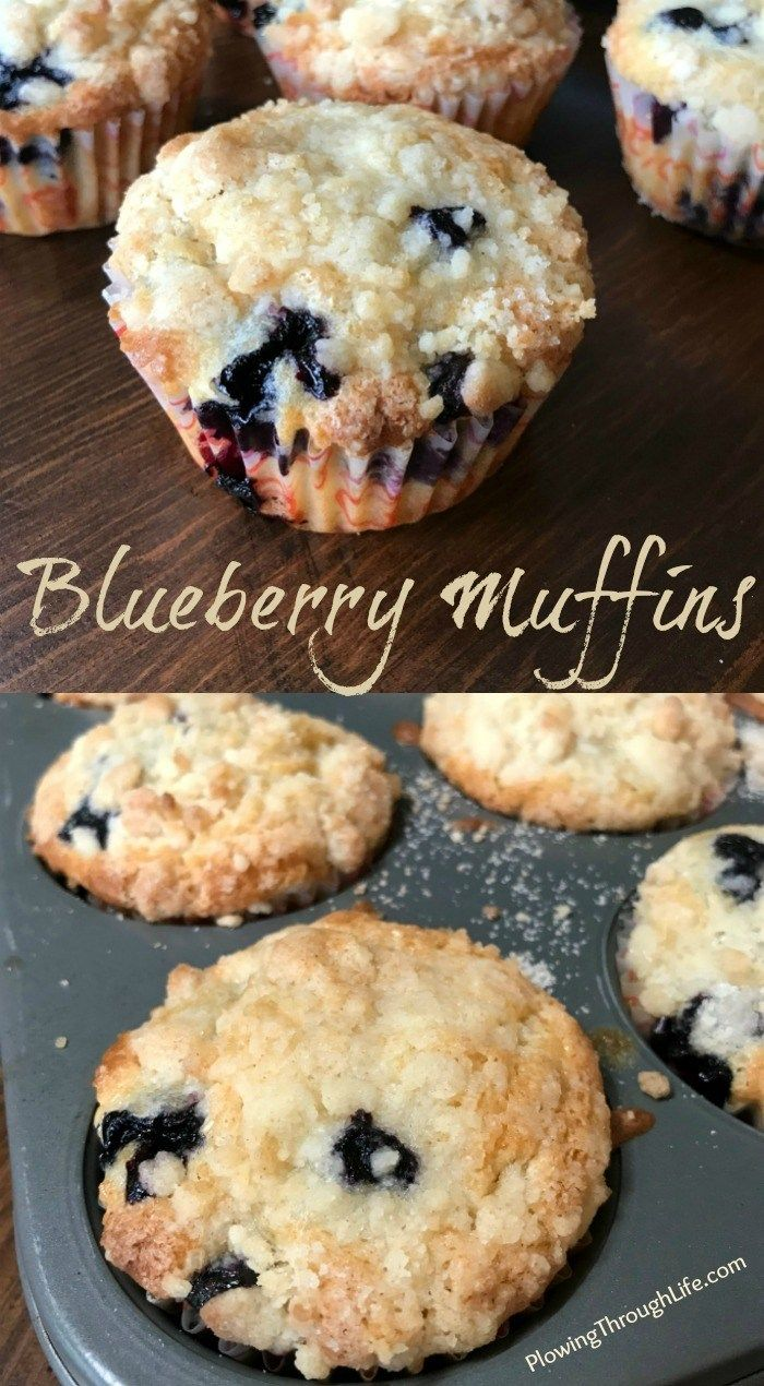 Blueberry Muffins Farmhouse Style Plowing Through Life