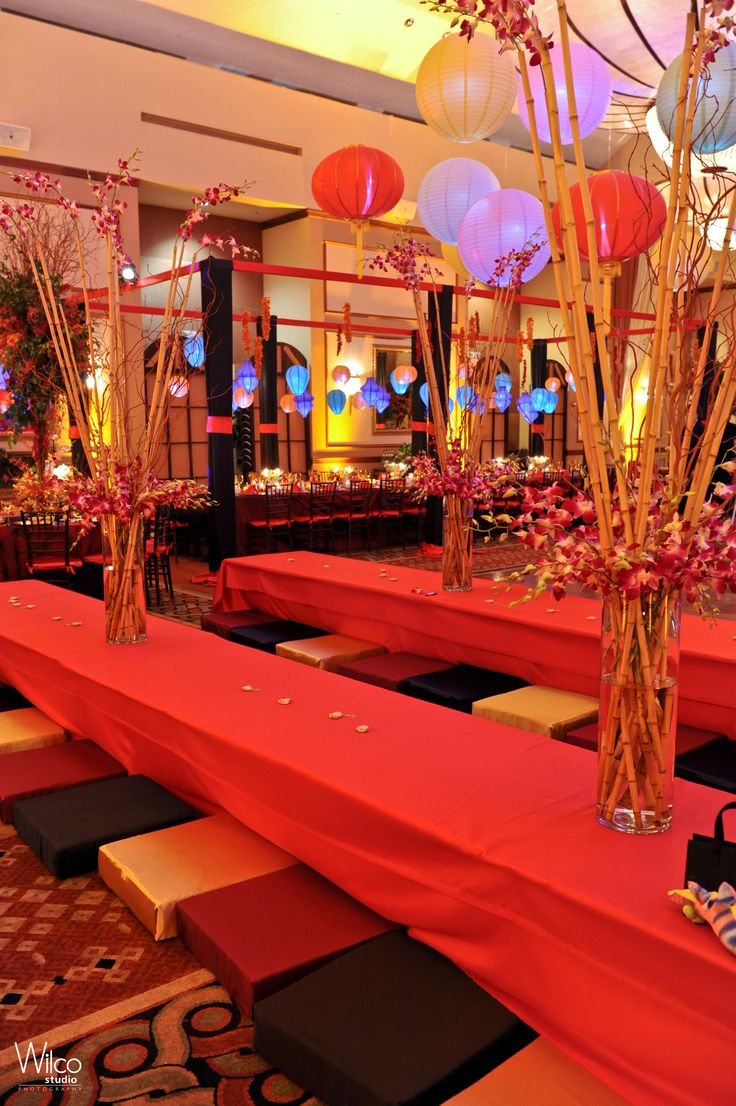 Asian Party Decoration Of 25 Best Images About Bar Mitzvah Theme Japanese Garden On
