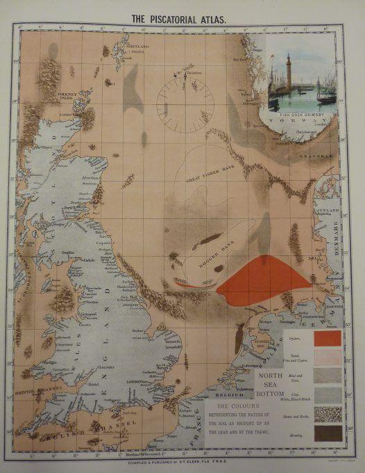 Piscatorial Atlas North Sea bottom
