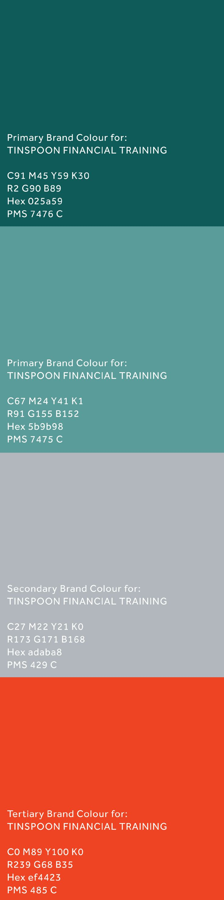 #brand development for @tinspoonfinancialtraining by Inkling About Design 2013 www.inklingaboutdesign.com #logo #branding #identity #graphicdesign