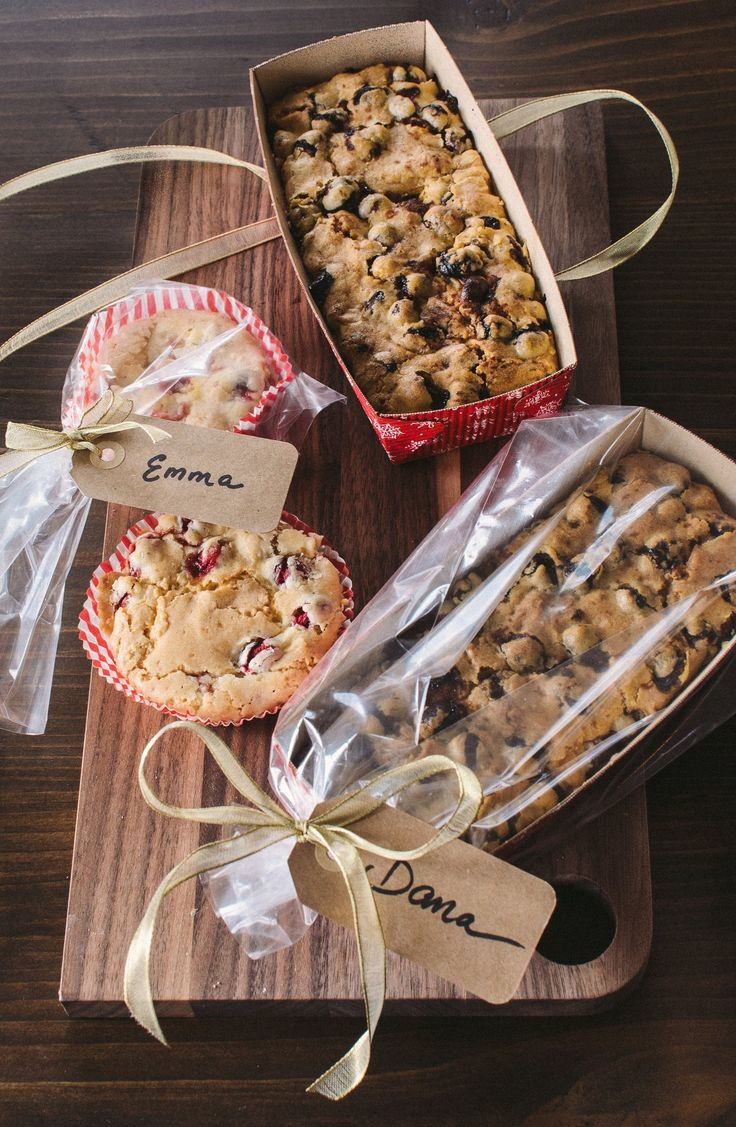 Gift wrapping ideas for home made baked goods - 5 Loaf Cakes Quick Breads That Make Perfect Gifts
