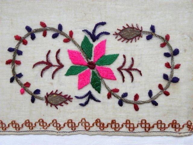 Crimean Tatar embroidery motif