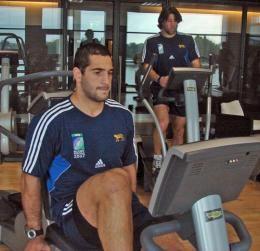 Juan - Pumas training