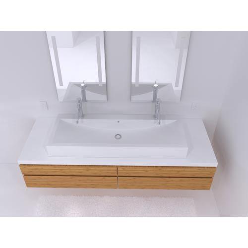 Cantrio Koncepts Cast Polymer Large Vessel Sink