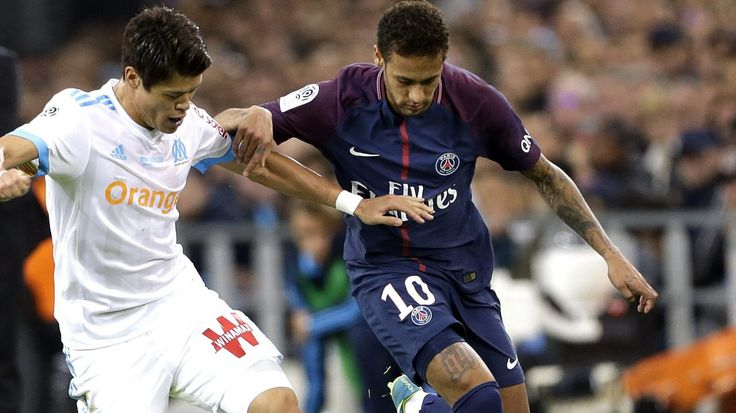 Ligue 1 – Goal and red card for Neymar in PSG vs Marseille derby #News #composite #Football #Ligue1 #Neymar