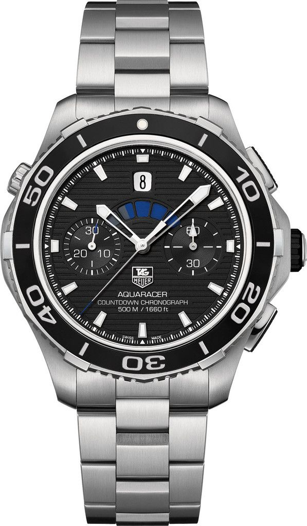 TAG Heuer Watch Aquaracer Countdown Automatic Chronograph #bezel-unidirectional #bracelet-strap-steel #brand-tag-heuer #case-material-steel #case-width-43mm #chronograph-yes #date-yes #delivery-timescale-4-7-days #dial-colour-black #gender-mens #luxury #movement-automatic #official-stockist-for-tag-heuer-watches #packaging-tag-heuer-watch-packaging #style-sports #subcat-aquaracer #supplier-model-no-cak211a-ba0833 #warranty-tag-heuer-official-2-year-guarantee #water-resistant-500m