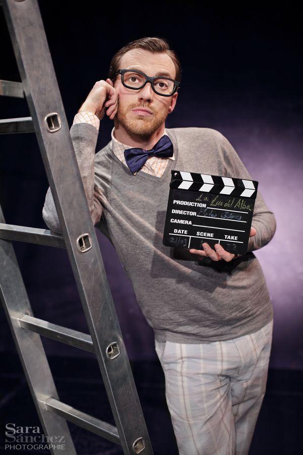 """Sergio Raboso en su papel de Mateo para la obra de teatro """"La luz del alba"""". Theatre by Sara Sánchez, via Behance"""