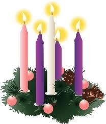 The meaning of the Advent wreath/candles with scripture - web site.