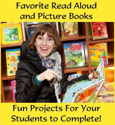 Lesson plan ideas and fun book report projects for some of your favorite read aloud and picture books.