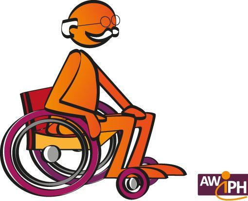Wippy âgé en fauteuil