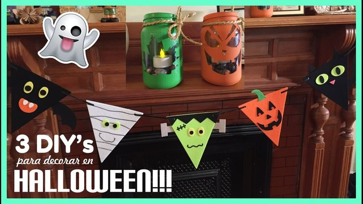 Decoraciones para Halloween - Súper fáciles!