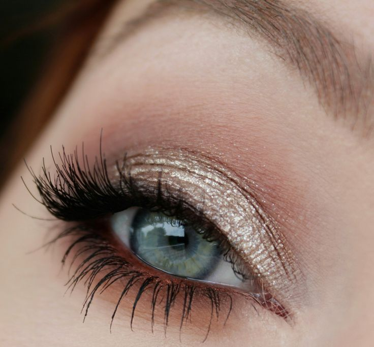 "MAC eyeshadows - Blanc Type, Malt, Swiss Chocolate, Folie, Handwritten, Rule Maybelline Color Tattoo - On and on bronze with ""Hema nude metallic Eyemousse"""
