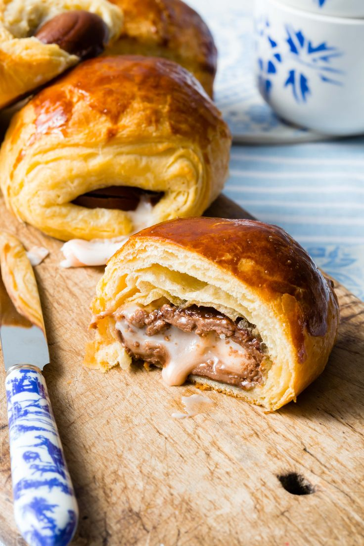 Cadbury's Creme Egg croissants, probably THE BEST COMBINATION EVER!!!   Thermomix Baking Blogger