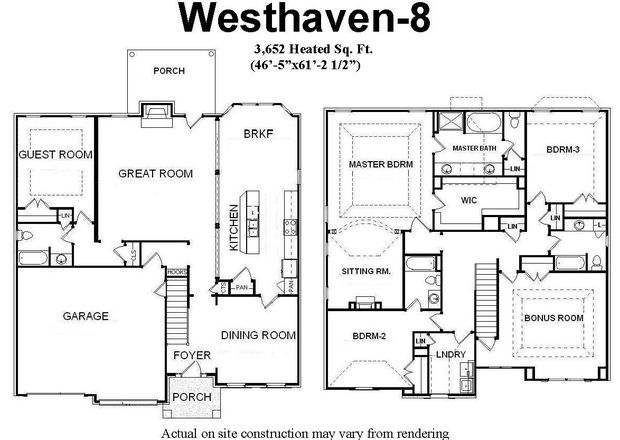 1000 images about bill beazley floor plans on for 3 bedroom floor plans with bonus room