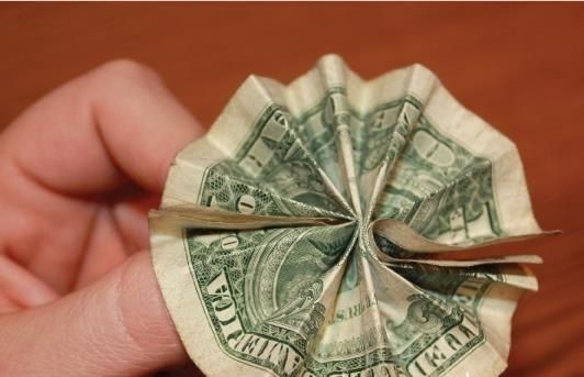 Money Origami: 10 Flowers to Fold Using a Dollar Bill Money Bouquet