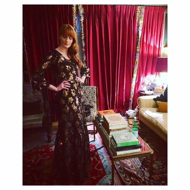 "The Vampire's Wife on Instagram: ""Florence at home wearing The Vampire's Wife Fil Coupé Streetsweeper.  @florence"""