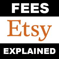 A simplified explanation of Etsy selling fees.