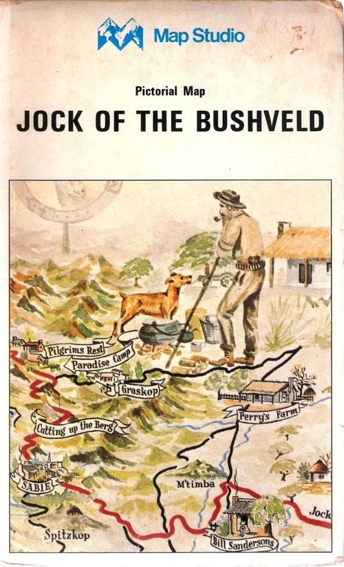 Buy PICTORIAL MAP: JOCK OF THE BUSHVELDfor R200.00