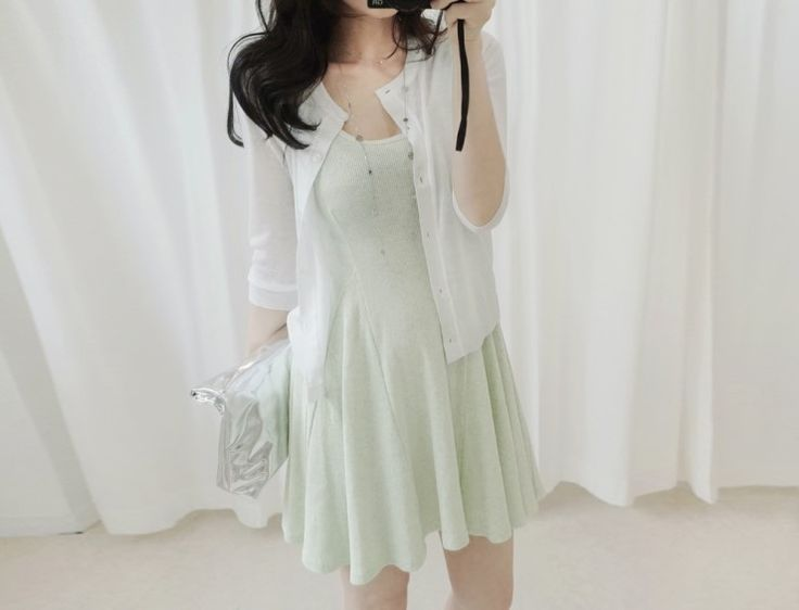 [reflower] 큐리가디건 / round neck summer cardigan : 리플라워