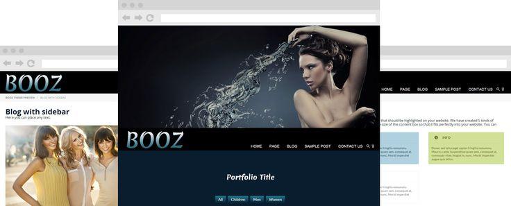 Booz - cool WordPress theme!