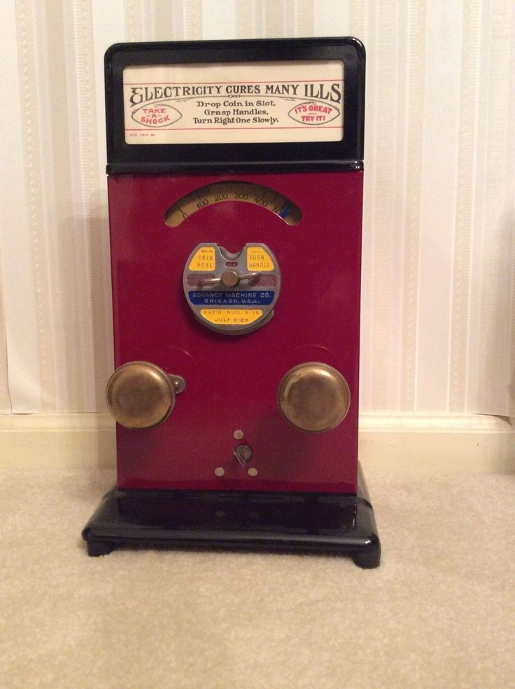 Vintage Penny Electric Shock Machine Fully Restrored Excellent Working Condition | eBay