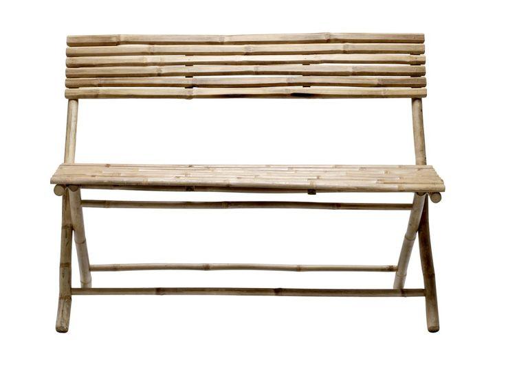 Rozkládací lavička Bamboo | Nordic Day