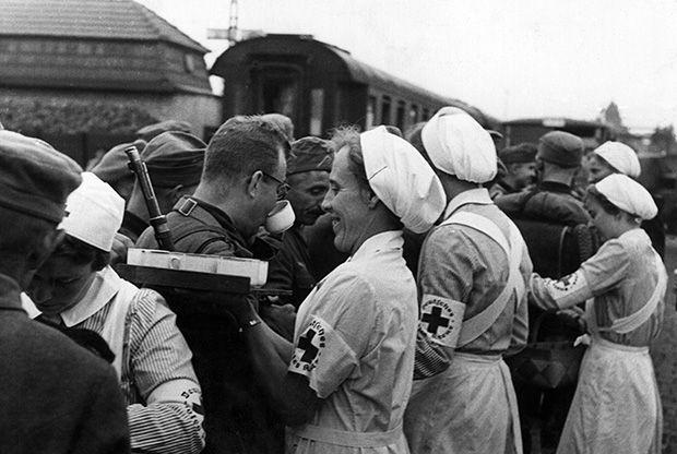 Deutsches rotes kreuz (German red cross)