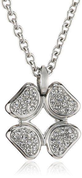 Fossil Damen-Halskette mit Anhänger Edelstahl 40 cm JF00861040