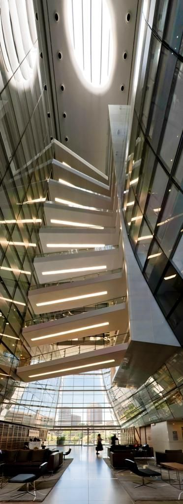 the inside view of the alice lane tower