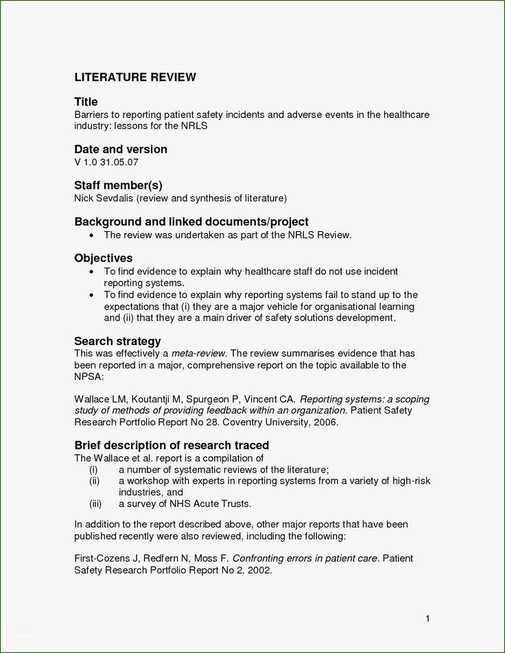 12 imposing apa literature review template that don't take