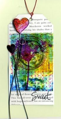 .: Tags Pap, Media Art Journals Art, Mixed Mediaart, Mixed Media Art, Gifts Tags, Mediaart Journalsart, Beautiful Tags, Valentines Day Mixed Media, Colour Tags