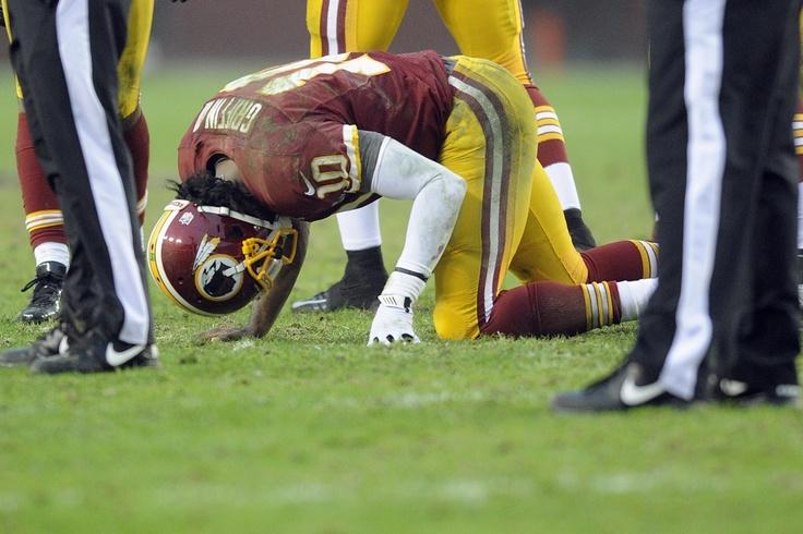 Robert Griffins Knee is Improving
