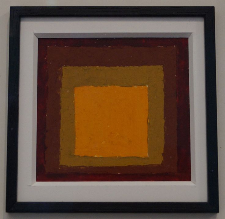 Josef Albers  Study for hommage to the square