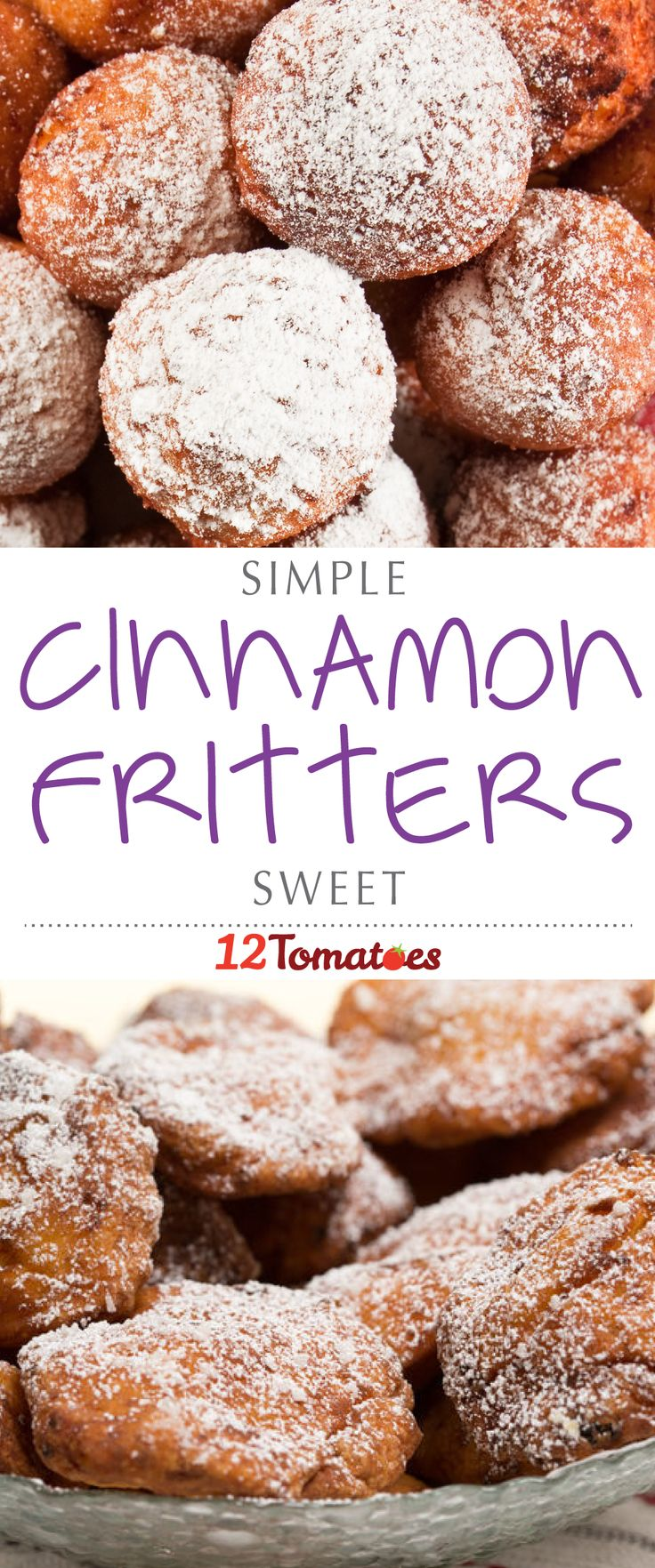 There's nothing better than a lip-smackingly delicious dish that comes together quickly and easily, and this recipe fits the bill perfectly. Like a cross between a doughnut and a beignet, fritters can be savory or sweet…and with our sweet tooth, we had to try our hands at a simple cinnamon fritter that hits the spot in every way!