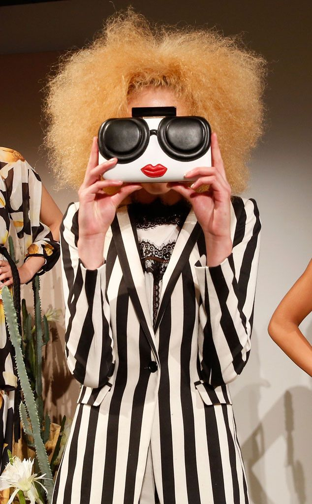 Funny Face from Best Accessories at New York Fashion Week Spring 2016