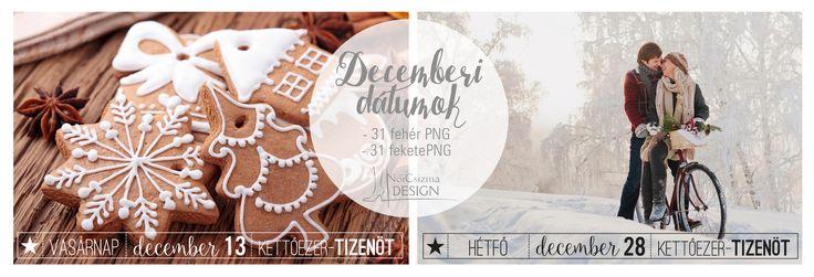 NőiCsizma | Decemberi dátumok PNG